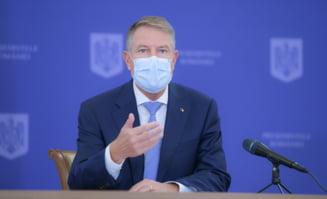 Klaus Iohannis, dupa intalnirea cu ministrul Sanatatii si Seful ATI: In Bucuresti, vom avea in sapte spitale o extensie a capacitatii de terapie intensiva