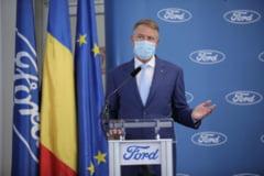 """Klaus Iohannis, ieri, la fabrica Ford: """"Craiova este o locatie economica de prima mana in Europa"""""""