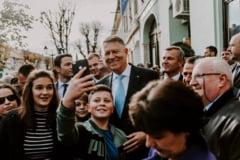 Klaus Iohannis, intalniri cu cetatenii in toata tara