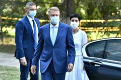 """Klaus Iohannis, intrebat despre clanurile interlope: """"Sa ne amintim cu tristete de cei trei ani in care PSD a incercat cu toata forta sa puna cizma pe gatul justitiei"""""""