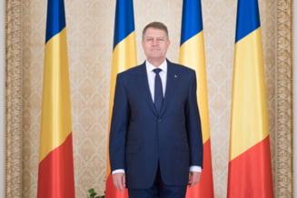 Klaus Iohannis, mesaj inainte de campanie: Mergeti la vot, nu toti candidatii sunt la fel!
