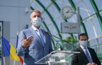 """Klaus Iohannis, prima reactie la cazul """"directorului de carton"""" numit de PNL la Mures"""