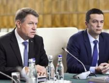 Klaus Iohannis, sedinta guvern 18 ianuarie