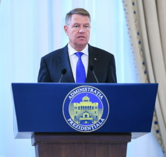 Klaus Iohannis, somat pentru a treia oara de Societatea Timisoara sa retraga decoratiile condamnatilor definitiv