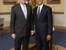 Klaus Iohannis Barack Obama Casa Alba