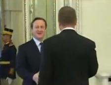 Klaus Iohannis David Cameron