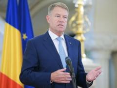 Klaus Iohannis a anulat declaratia de presa pe care o anuntase dupa sedinta cu ministrii
