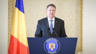 Klaus Iohannis a declansat procedura pentru organizarea referendumului