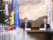 Klaus Iohannis a prezidat sedinta de guvern