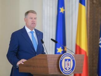 Klaus Iohannis catre Birchall: 'Am apreciat postura pe care ati avut-o pentru independenta justitiei