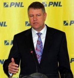 Klaus Iohannis este candidatul PNL pentru prezidentiale