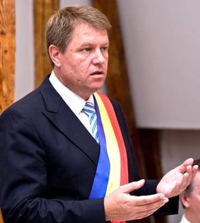 Klaus Iohannis nu stie daca mai vrea sa fie primarul Sibiului