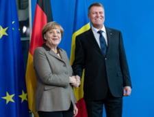 Klaus Iohannis pleaca in vizita oficiala in Germania, unde se va intalni cu Angela Merkel