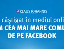 Klaus Iohannis proclama victoria pe Internet