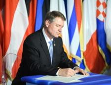 Klaus Iohannis semneaza declaratie Roma