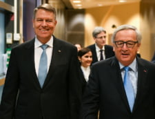 Klaus Iohannis si Jean Claude Juncker, Bruxelles, ianuarie 2018