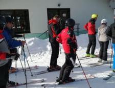 Klaus Iohannis ski Muntii Sureanu