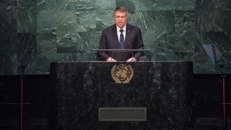 Klaus Iohannis vorbește marți în plenul Adunării Generale a ONU. Programul complet al delegației române