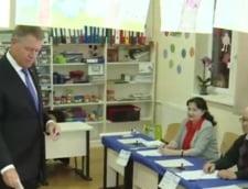 Klaus Iohannis vot