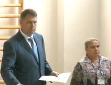 Klaus Iohannis voteaza
