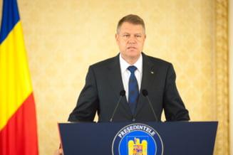 Klaus Iohannis vrea sa se adreseze Parlamentului in 22 iunie