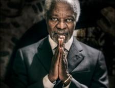 Kofi Annan, omagiat de lideri din intreaga lume - de la Vladimir Putin la Barack Obama
