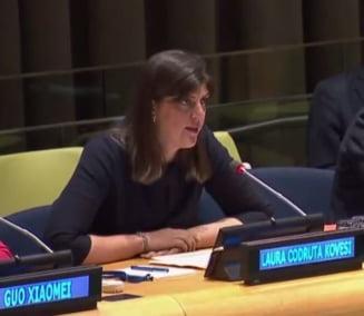 Kovesi a vorbit la ONU despre atacurile asupra justitiei din Romania: Cea mai mare provocare e acum pastrarea independentei