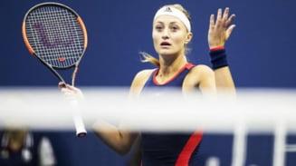 Kristina Mladenovic, meci de cosmar la US Open