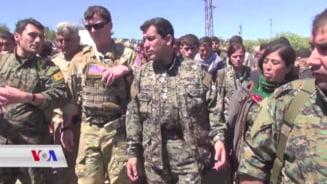 Kurzii din Siria anunta ca vor cere ajutorul Rusiei sau chiar al lui Assad impotriva Turciei, daca sunt parasiti de SUA