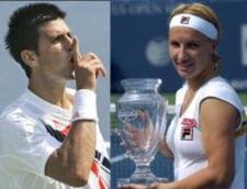 Kuznetova si Djokovici s-au impus la Beijing