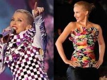Kylie Minogue, prost imbracata