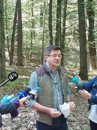 LIVE: Costel Alexe, la Schitu Duca - Padurile seculare vor intra in zone de protectie