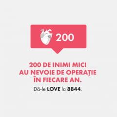 LOVE in viata reala. Sute de copii au nevoie in fiecare an de operatii pe inima. Cum ii putem ajuta