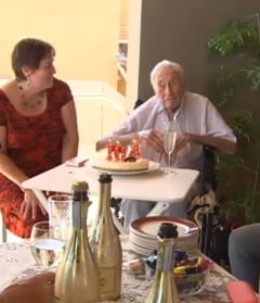 La 104 ani isi face ultimul cadou. Merge in Elvetia ca sa se sinucida asistat: Nu sunt fericit. Vreau sa mor (Video)