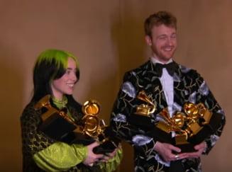 La 18 ani, Billie Eilish a doborat toate recordurile la Premiile Grammy. Ceremonia, marcata de moartea lui Kobe Bryant (Video)
