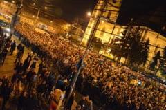 La 25 de ani de la Revolutie, clujenii ies din nou in strada. De aceasta data, impotriva legii securitatii cibernetice