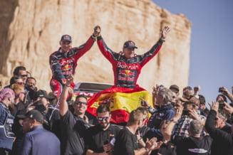 La 57 de ani, legendarul Sainz a castigat din nou Raliul Dakar