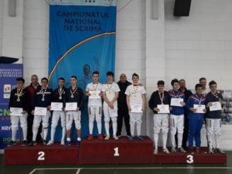 La Bucuresti a inceput Campionatul National de spada cadeti si juniori