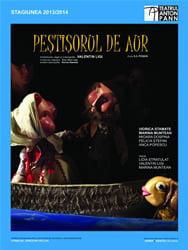 """La Festivalul de Teatru """"Aschiuta"""" de la Pitesti, Teatrul """"Anton Pann"""" va prezenta spectacolul """"Pestisorul de aur"""""""