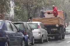 La Galati se toarna asfalt pe ninsoare... in mod asumat: Tot asa s-a facut si acum 5 ani (Video)