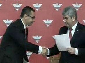 La PSD se decide soarta politica a premierului. Ponta spune ca are sprijinul UNPR la motiune