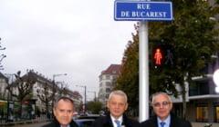 La Strasbourg a fost inaugurata o strada cu numele capitalei Romaniei