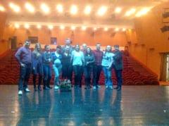La Tulcea, Actorii au sarbatorit prin munca Ziua Mondiala a Teatrului