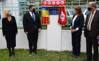 "La Tunis a fost inaugurata ""Piateta Regina Maria a Romaniei"""