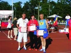 La campionatul de atletism, Veteranii valceni au obtinut 13 medalii de aur si argint