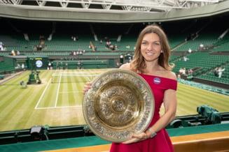 La cate puncte s-a apropiat Simona Halep de locul 1 mondial WTA, dupa triumful de la Wimbledon