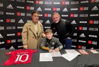 La doar 11 ani, o ia pe urmele legendarului sau tata si semneaza cu Manchester United. Vezi ce copil are deja contract cu celebrul club