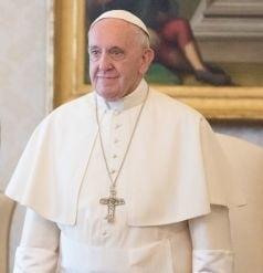La frontiera cu Rusia, Papa Francisc condamna recursul la trupe si arme