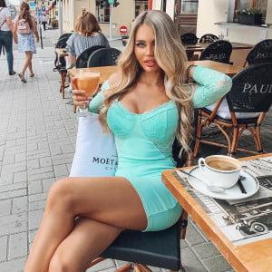 La o cafea