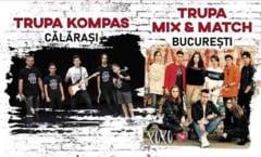 """La sfarsitul acestei luni, trupa calaraseana Kompas va sustine pe scena salii """"Barbu Stirbei"""" un concert rock"""